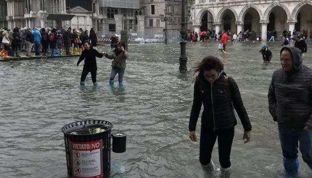 Венецию затопило - вода поднялась больше метра