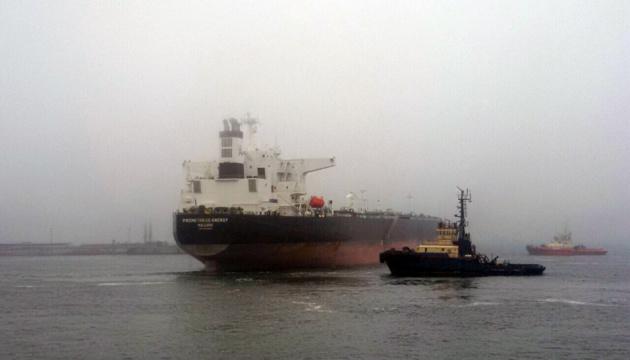 В Одесский порт впервые прибыла нефть ливийского происхождения
