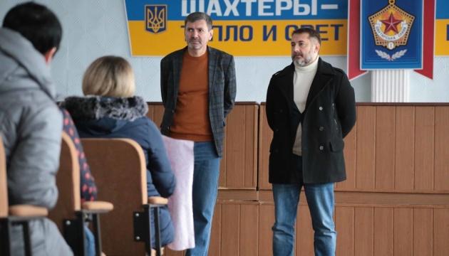 Страйк на Луганщині: голова ОДА зустрівся з шахтарями