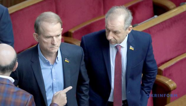 Медведчук возглавил межфракционное объединение в парламенте