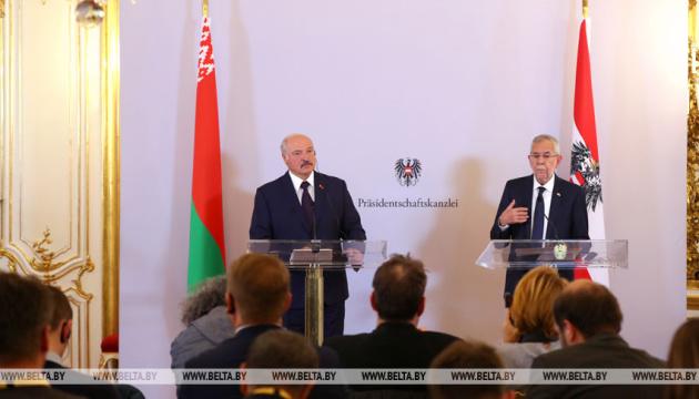 Президент Австрії на зустрічі з Лукашенком згадав про інтервенцію РФ в Україну