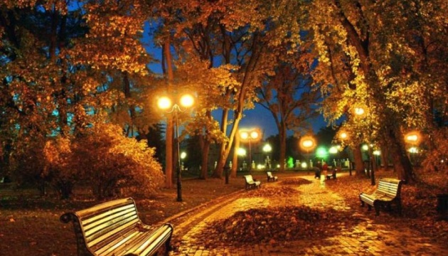 Warmest November night recorded in Kyiv