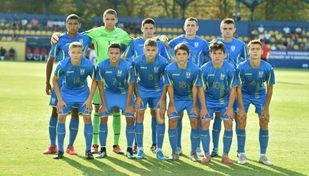 Сборная Украины по футболу U17 выиграла первую квалфикацию Евро-2020