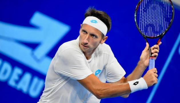 Стаховский проиграл четвертьфинал турнира ATP в Финляндии