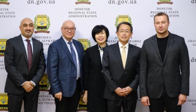 Цьогоріч Японія дала $4 млн на відбудову Донбасу, наступного — допоможе з медициною
