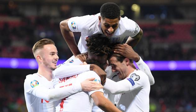 Англія, Франція, Туреччина і Чехія вийшли на футбольне Євро-2020