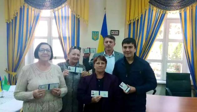 У Туркменістані урочисто вручили посвідчення закордонного українця