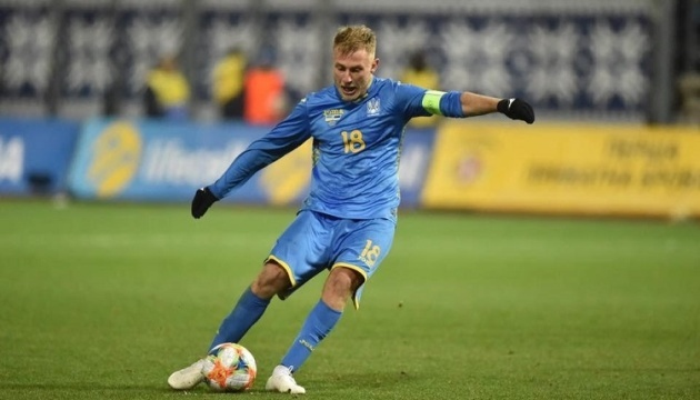 Безус був найкориснішим футболістом матчу Україна - Естонія