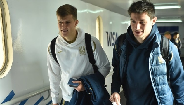 Збірна України з футболу прилетіла до Белграда на матч із сербами