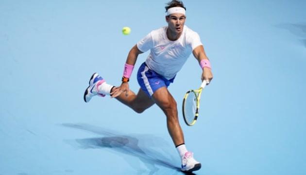 Надаль обыграл Циципаса на Итоговом турнире ATP