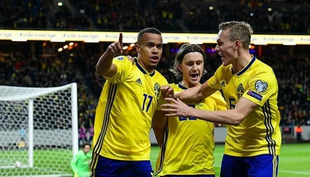 Швеція вийшла на футбольне Євро-2020