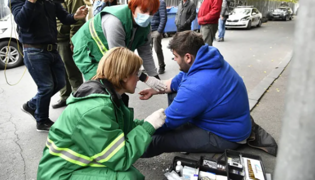 У Грузії відбулися сутички протестувальників із поліцією, є постраждалі