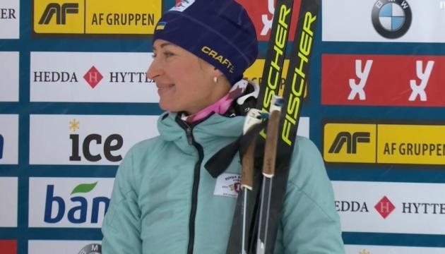 Віта Семеренко фінішувала четвертою у спринті на турнірі в Шушені
