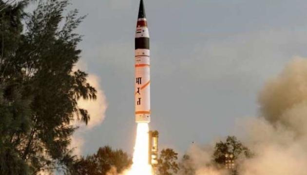Індія випробувала ракету Agni-II, що здатна нести ядерний боєзаряд