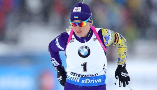 Валя Семеренко і Блашко фінішували в топ-10 мас-старту в Шушені