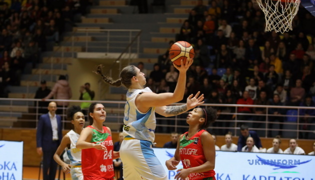 Україна обіграла Португалію у відборі на жіночий Євробаскет-2021
