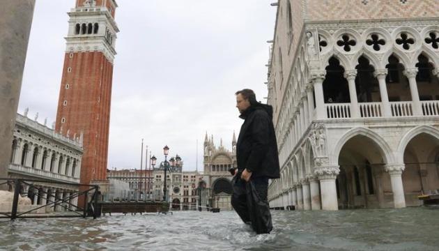 У Венеції потроху спадає рівень води