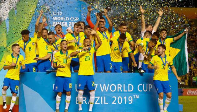 Збірна Бразилії U17 виграла чемпіонат світу з футболу