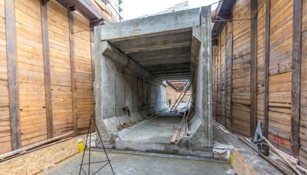 Для метро на Виноградарь построили первый тоннель