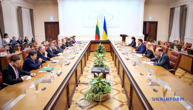 Honcharuk, Pranckietis discuss prospects for Ukraine-Lithuania cooperation