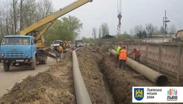 Во Львове - большая авария, нескольким районам ограничили подачу воды