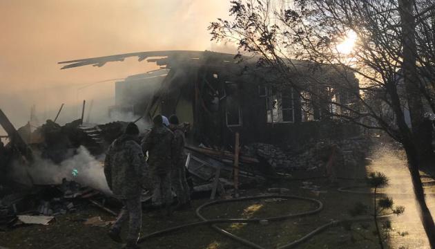 Прокуратура назвала ймовірну причину пожежі у військовій частині на Львівщині