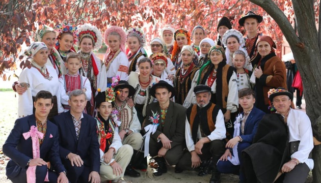 У Мадриді показали традиційний одяг Гуцульщини та Покуття
