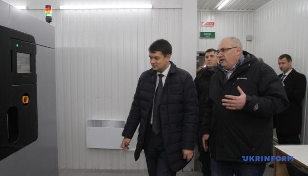 """Разумков у Дніпрі відвідав КБ """"Південне"""""""