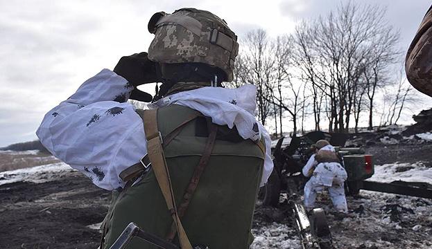 Оккупанты восемь раз обстреляли позиции ВСУ, ранены двое бойцов