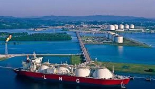 Ship carrying liquefied natural gas for Ukraine arrives at LNG terminal in Poland