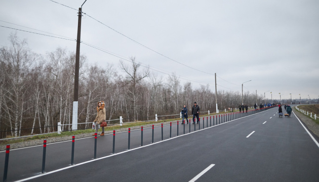Zelensky says bridge in Stanytsia Luhanska opened