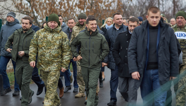 Selenskyj: Lokalwahlen im Donbass ist die wichtigste Frage auf Normandie-Gipfel