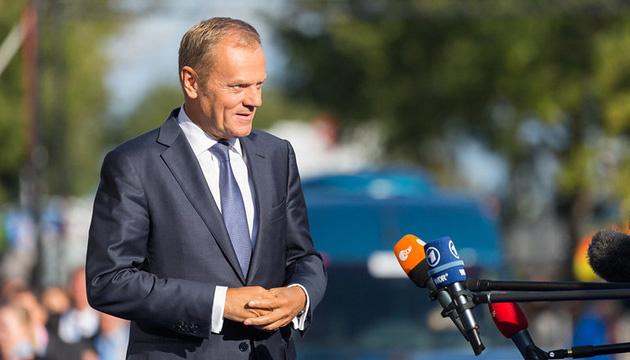 Tusk recuerda que apoyar a Ucrania es en interés de Europa
