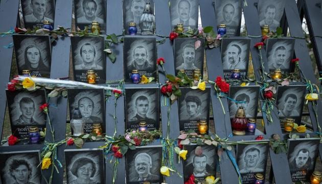 Der Tag der Würde und der Freiheit: Selenskyj nimmt an Maßnahmen teil