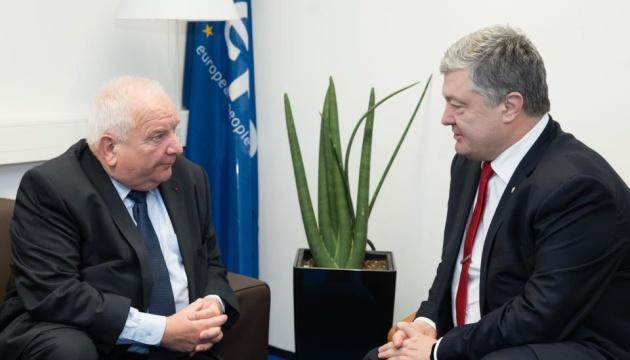 Порошенко встретился с президентом ЕНП - говорили о евроинтеграции и санкциях