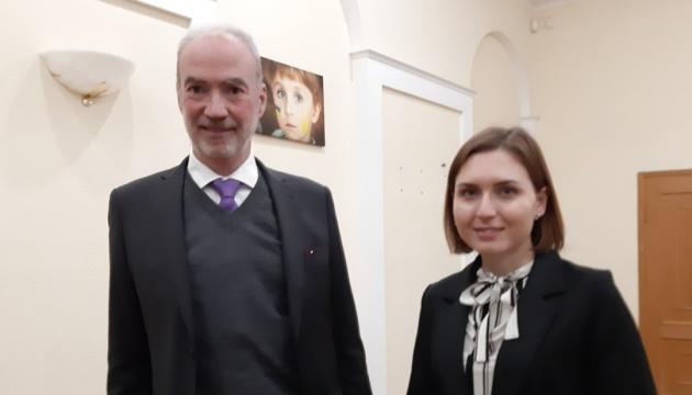 L'ambassadeur de France a rencontré la ministre de l'Éducation et de la Science d'Ukraine