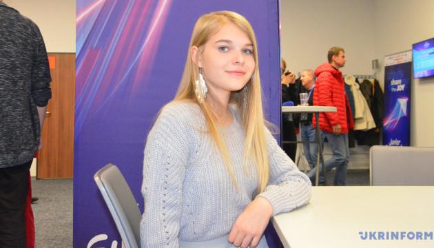 Учасниця Дитячого Євробачення від України закликає за неї голосувати