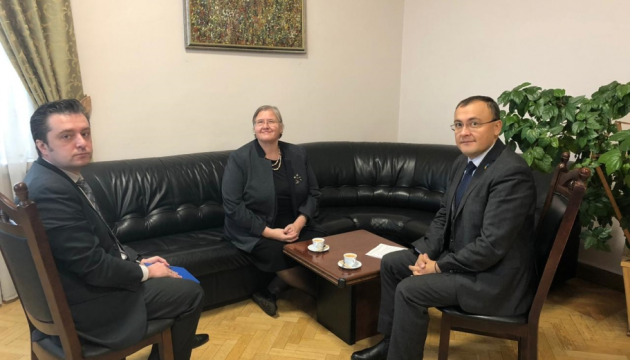 Ukraine and Croatia interested in exchanging visits at highest level
