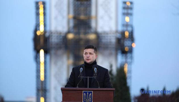 Volodymyr Zelensky  a participé aux événements dédiés à la Journée du souvenir des victimes de l'Holodomor