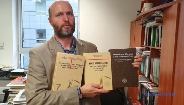 В архівах ІНП Польщі є багато матеріалів про Голодомор - польський історик