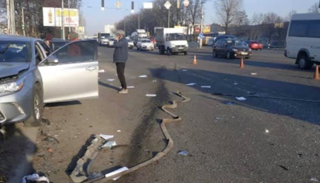 Поліція відкрила кримінальну справу через ДТП за участю авто Кулеби