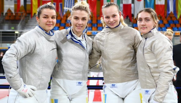 Украинские саблистки выиграли «бронзу» на этапе Кубка мира