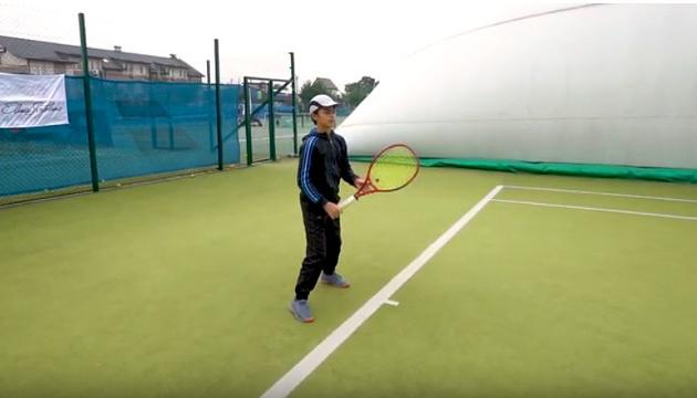 Переможцями першої програми Фонду Світоліної в Україні стали 4 юних тенісистів