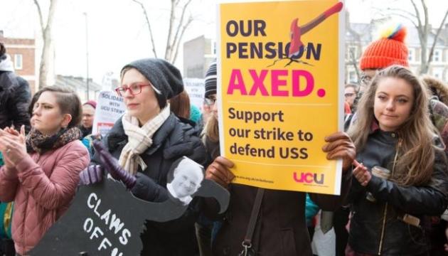 У Британії страйкують викладачі 60 вишів — вимагають більших зарплат