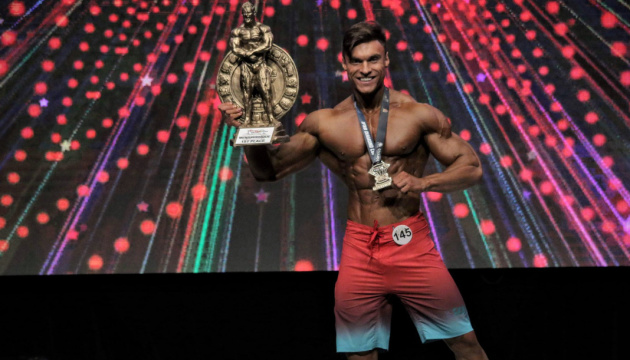 Le bodybuilder ukrainien Horobets a remporté le tournoi au Mexique