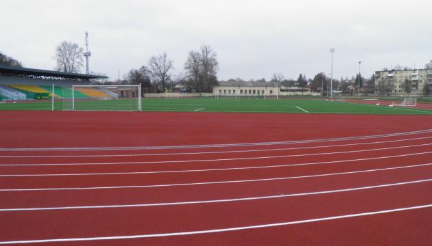 У Чернігові реконструювали стадіон спецшколи олімпійського резерву з футболу