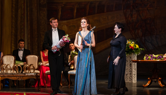 Во Львове назвали победителей Международного конкурса молодых оперных певцов