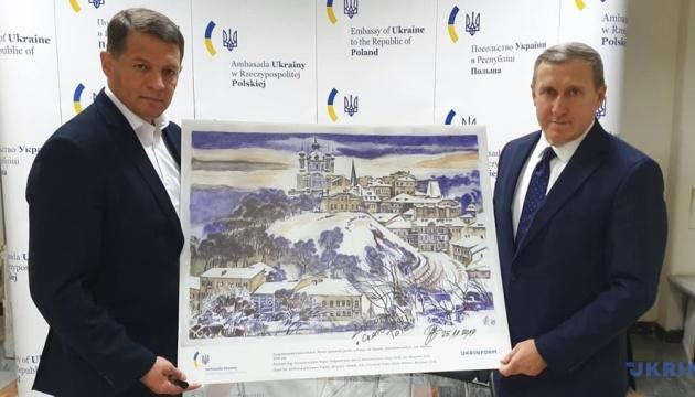 Госєвська: Виставка Сущенка в польському Сеймі є нагадуванням про події на сході України