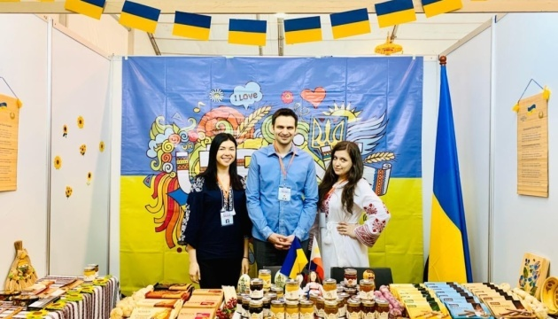 Ukraine participates for the first time in International Charity Bazaar in Philippines
