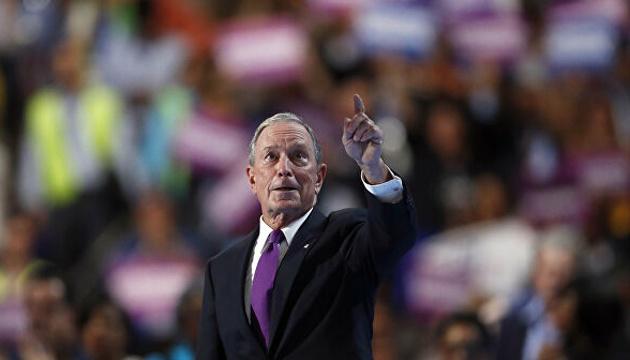 Блумберг візьме участь у дебатах претендентів на пост президента США